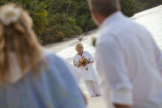 USVI beach wedding