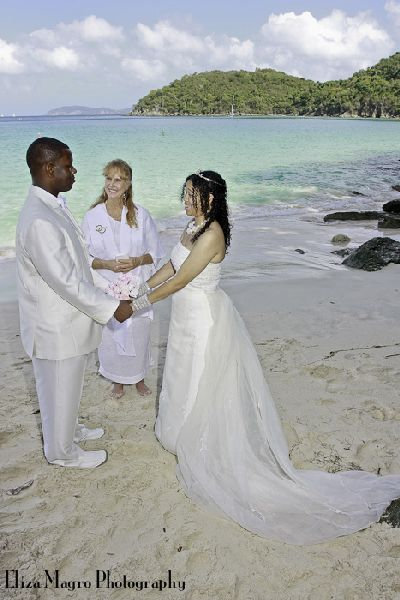 USVI wedding ceremony